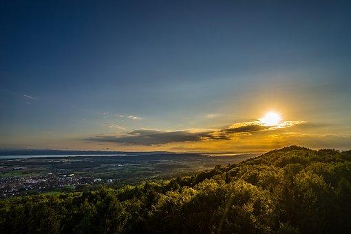 Nature, Landscape, Lake Constance, Vision, Background