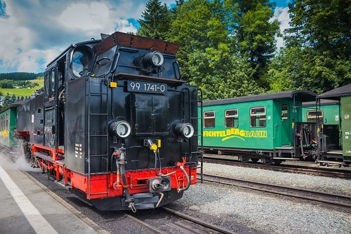 Locomotive, Steam, Train, Steam Locomotive, Nostalgia