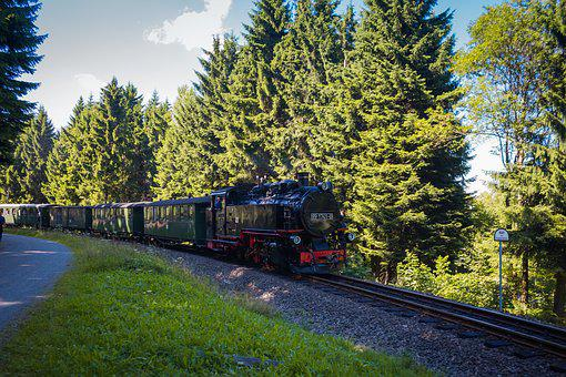 Steam Locomotive, Train, Machine, Railway, Nostalgia