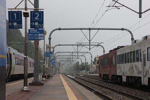 Train, Railway, Transportation, Train Station