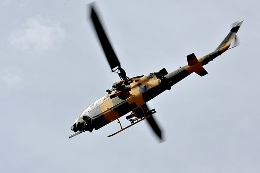 Helicopter, Soldier, Military, War, Weapons, Sky