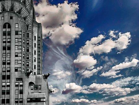 Chrysler Building, America, New York, City, Chrysler