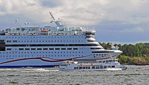 Sweden, Deep-sea Ferry, Stockholm, Archipelago
