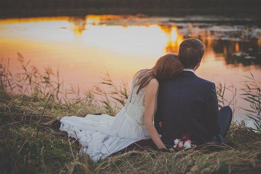 Wedding, Bride, Groom, Woman, Man, People, Love, Couple