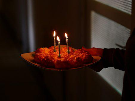 Birthday, Candlelight, Cake, Celebration, Happy, Candle