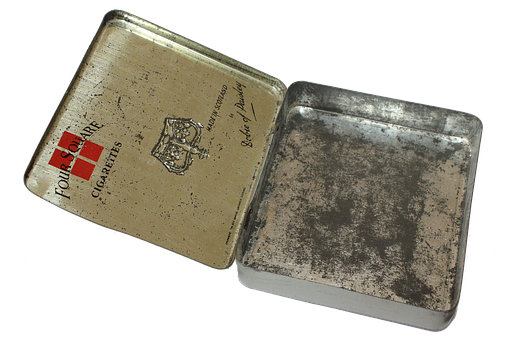 Tin, Container, Png, Cigarettes, Four Square, Tobacco