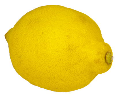 Lemon, Isolated, Fruit, Yellow, Sour, Citrus Fruits