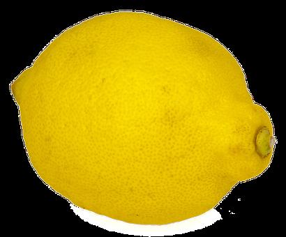 Lemon, Isolated, Fruit, Yellow, Sour, Citrus Fruits