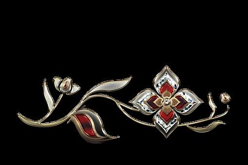 Gemstones, Gems, Jewelry, Gold, Golden, Png