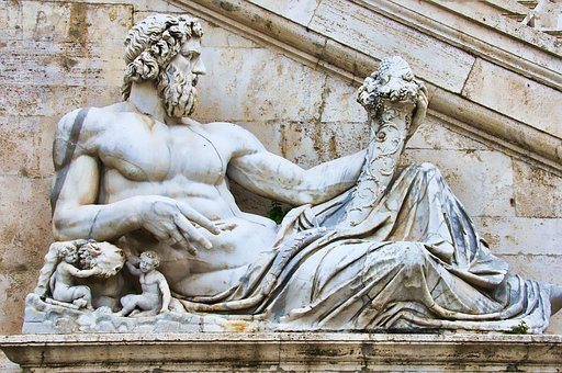 Italy, Rome, Statue, Architecture, Europe, Ancient