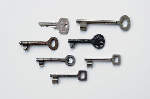 Keys, Metal, Security, Lock, Safety, Secure, Old, Safe