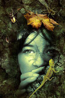 Fantasy, Fairy Tales, Mystical, Woman, Masonry