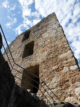 Castle, Ruin, Neideck, Franconian Switzerland