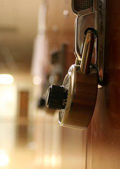 Lock, Locker, School, Safe, Security, Padlock, Secure