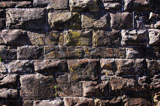 Stone Wall, Wall, Welsh Wall, Stone, Texture, Old