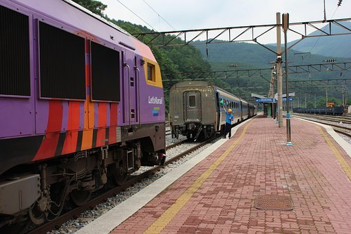 Train, Railway, Transportation, Coach, Passenger