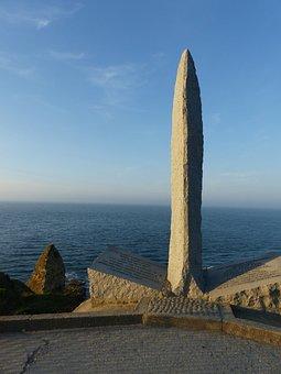 Monument, Landing, War, Tribute, Normandy