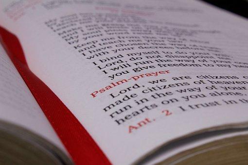 Prayer, Scripture, Bible, Breviary, Verse