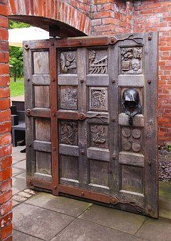 Oak Door, Door, Oak, Wood, Entrance, Old, Architecture