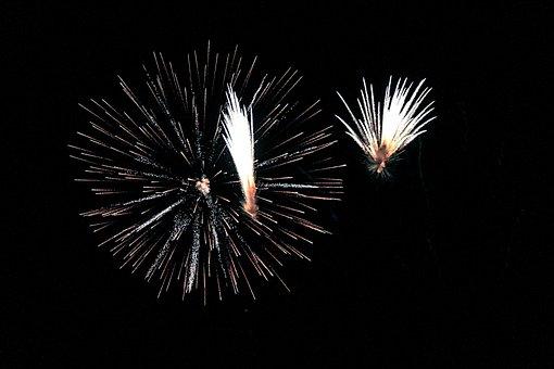 Fireworks, Sparks, Party, Fire, Light, Celebration