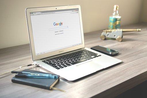 Macbook, Laptop, Computer, Technology, Office, Desk