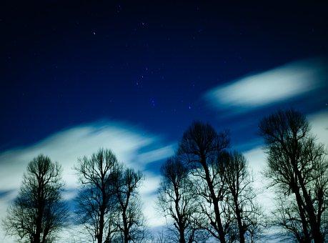 Stars, Galaxy, Space, Astronomy, Night, Dark, Evening
