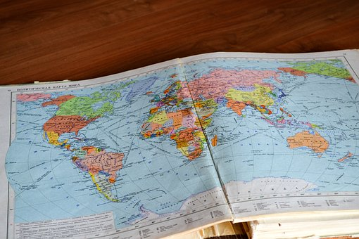 Map, Navigation, Directions, Globe, Travel, Trip