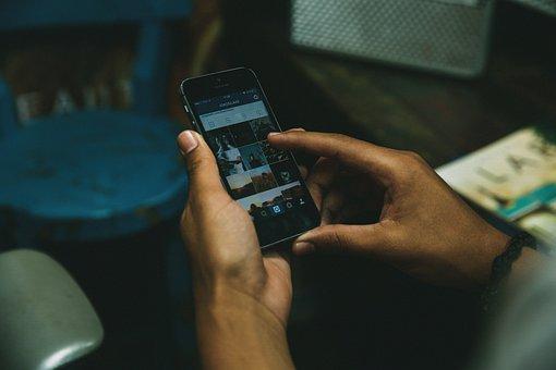 Iphone, Smartphone, Cell Phone, Instagram, Social Media
