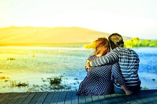 Couple, Love, Romance, Hugging, Guy, Man, Girl, Woman