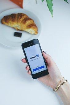 Linkedin, App, Mobile, Smartphone, Iphone, Phone
