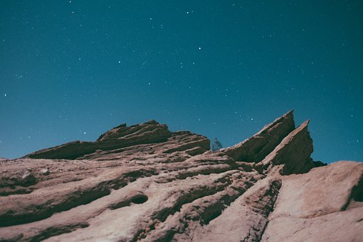 Sky, Night, Hill, Edge, Universe, Trek, Trekking