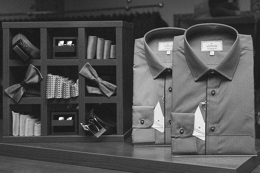Shirts, Collared, Ties, Bowties, Cufflinks, Fashion