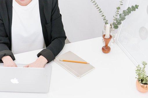 Working, Typing, Macbook, Laptop, Computer, Technology