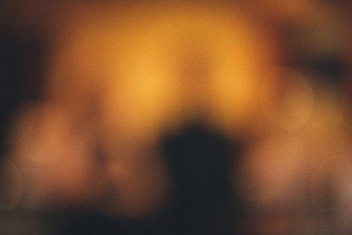 Abstract, Blurry, Texture, Orange