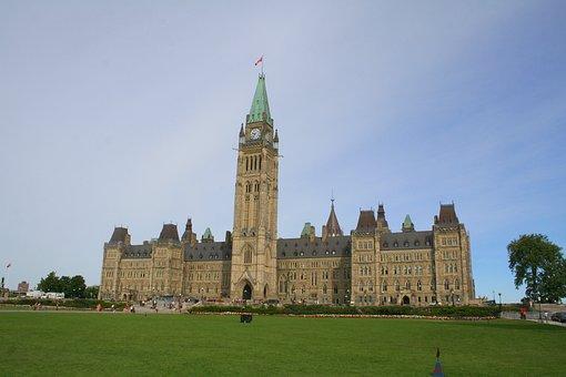 Canada, Parliament, Ottawa, Capital, Building, Ontario