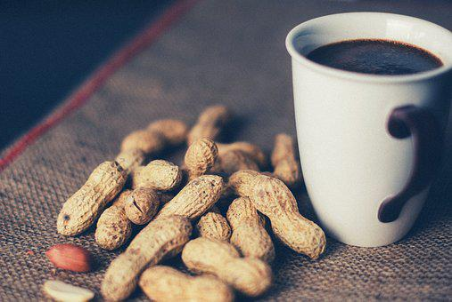 Peanuts, Coffee, Cup, Mug, Food