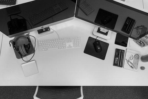 Mac, Desktop, Computer, Monitors, Keyboard, Mouse