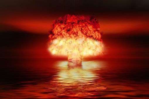 Atomic Bomb, Nuclear Weapons, Explosion, Mushroom