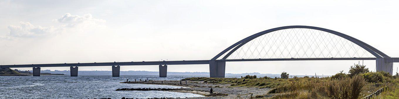 Fehmarnsund, Bridge, Fehmarn, Fehmarnsund Bridge