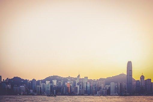 Skyline, Cityscape, Hong Kong, Buildings, High Rises