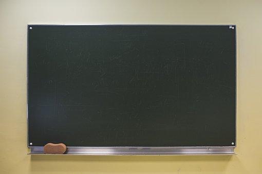 Blackboard, Chalkboard, School, Education, Learning