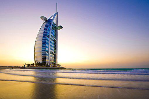 Burj Al Arab, Largest Hotel In Dubai