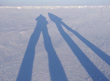 Shadow, Circuit, Figure, Light, Sunset, Long Shadows