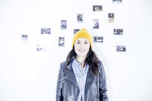 Girl, Model, Fashion, Jacket, Denim, Toque, Beanie, Hat