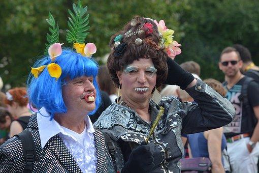 Human, Man, Christopher Street Day, Csd, Hamburg, Pride