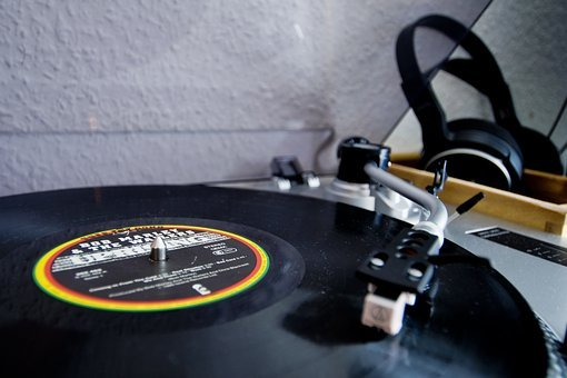 Turntable, Lp, Music, Reggae, Bob, Marley, Plate, Hifi