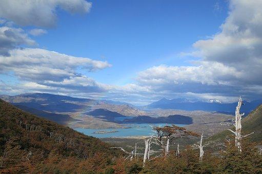 Torres Del Paine, Chile, Mountains, Valleys, Landscape