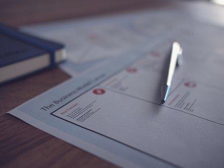 Business, Document, Proposal, Marketing, Pen, Office