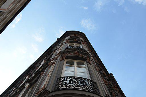 Home, Window, Ornament, Sky, Building, Architecture