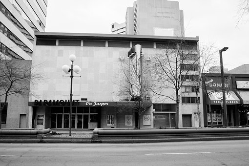 Paramount Theatre, Edmonton, Street, Urban, City